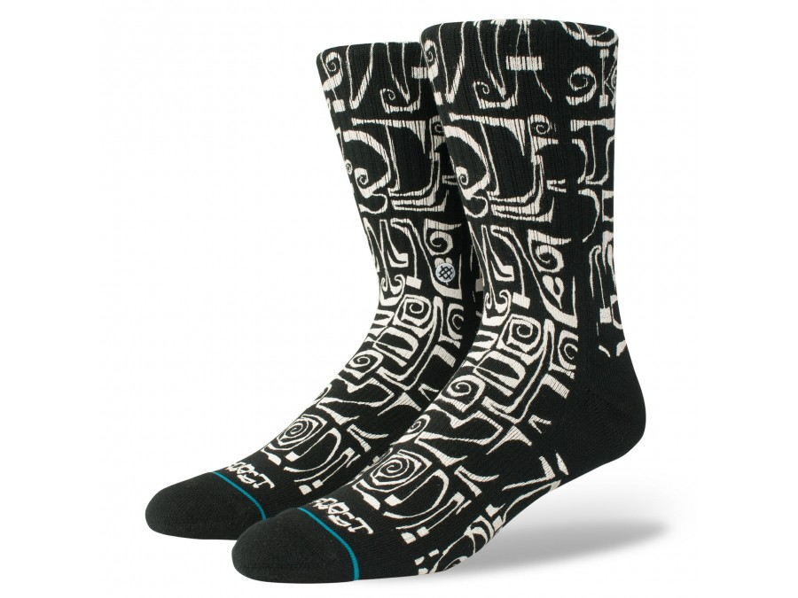 Calcetines Stance Frost Letters-M556A18FRO-BLK-img-1