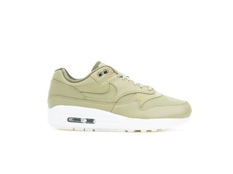 Nike Air Max 1 Premium Olive Wmns-454746-205-img-1