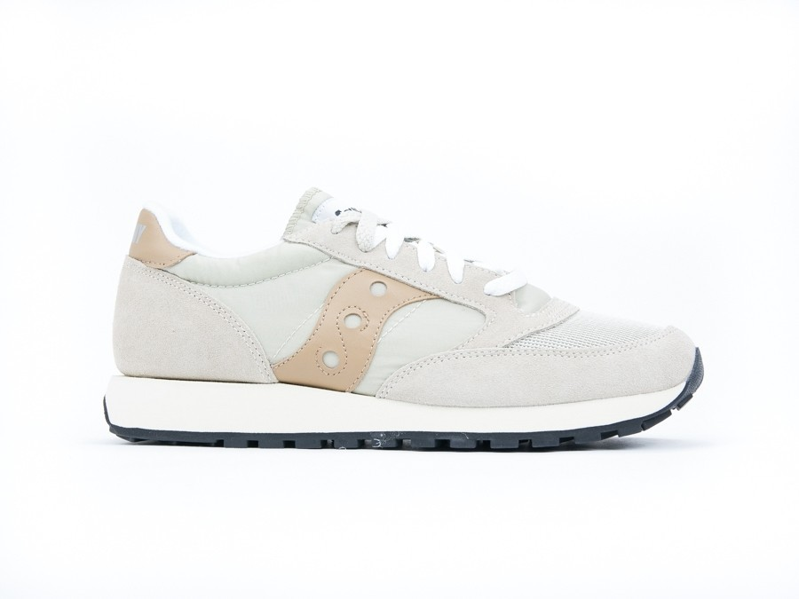 SAUCONY JAZZ O VINTAGE CEMENT TAN
