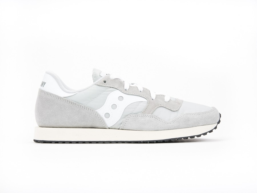 SAUCONY DXN TRAINER VINTAGE GREY WHITE-S70369-4-img-1
