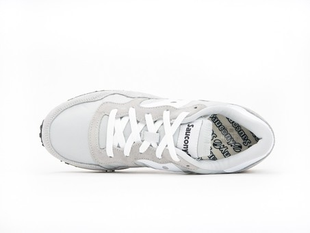 SAUCONY DXN TRAINER VINTAGE GREY WHITE-S70369-4-img-5