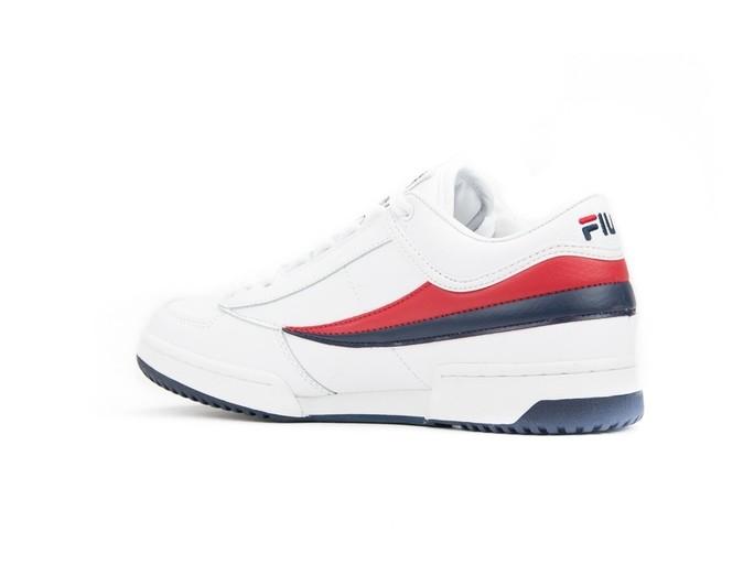 Fila T1 Mid White Red Blue-1VT13037-img-4