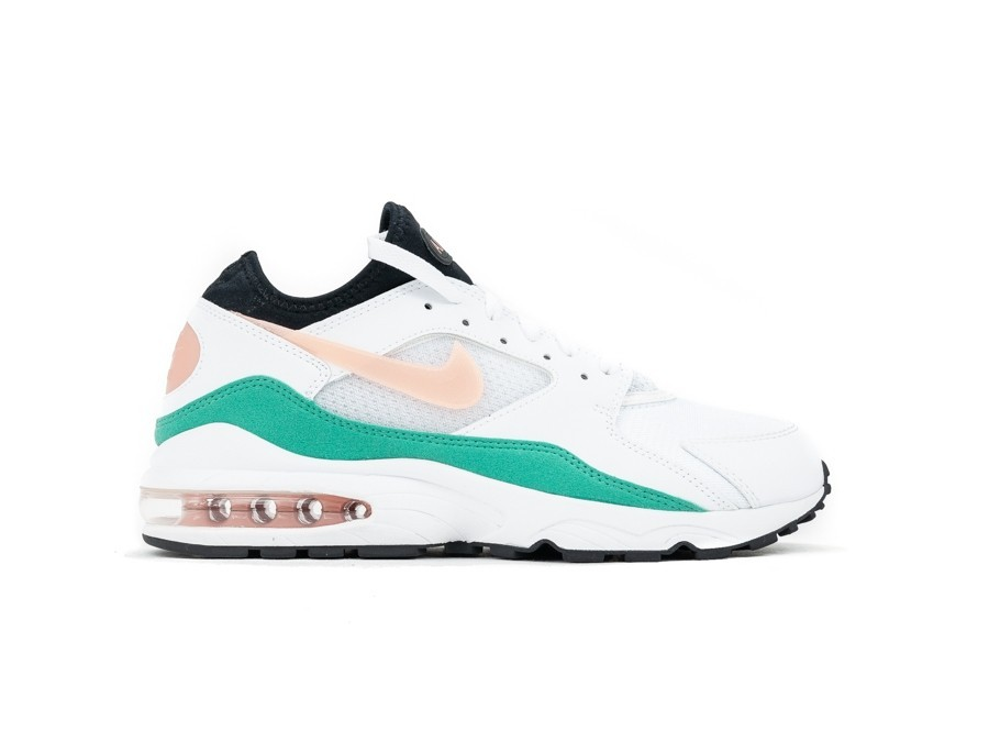 NIKE AIR MAX '93 WHITE CRIMSON BLISS-KINETIC GREEN