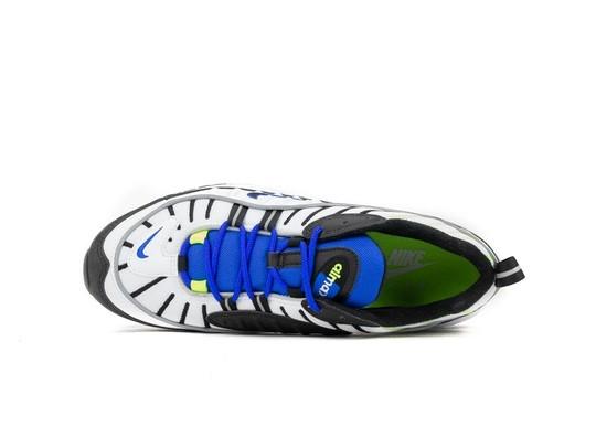 NIKE AIR MAX 98 WHITE BLACK-RACER BLUE-VOLT-640744-103-img-5