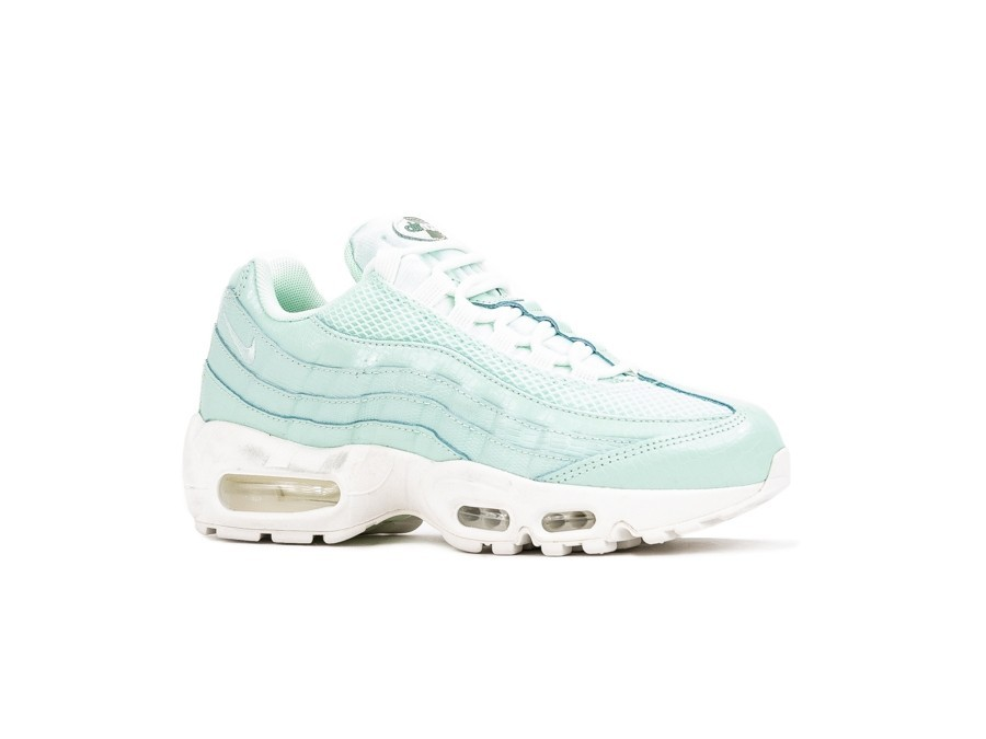 NIKE AIR MAX 95 PREMIUM WOMEN IGLOO IGLOO SUMMIT WHITE CLAY
