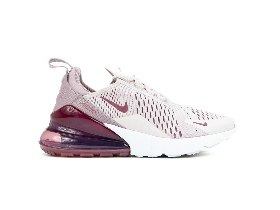 NIKE AIR MAX 270 WOMEN BARELY ROSE VINTAGE WINE E