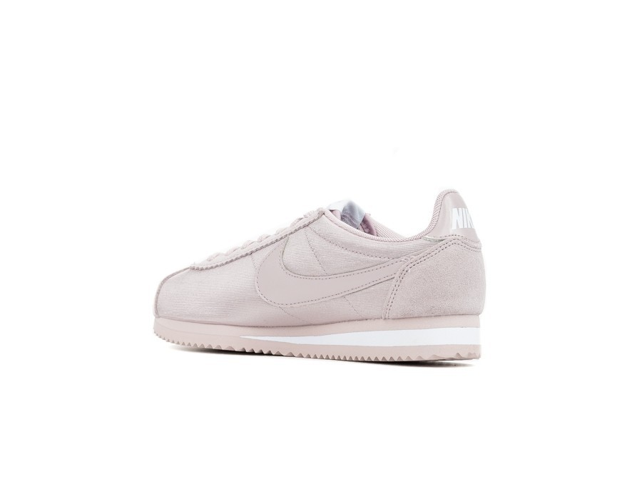 newest ac47f 098aa NIKE CLASSIC CORTEZ NYLON WOMEN PARTICLE ROSE PARTICLE ROSE-WHITE - 749864- 607 - TheSneakerOne