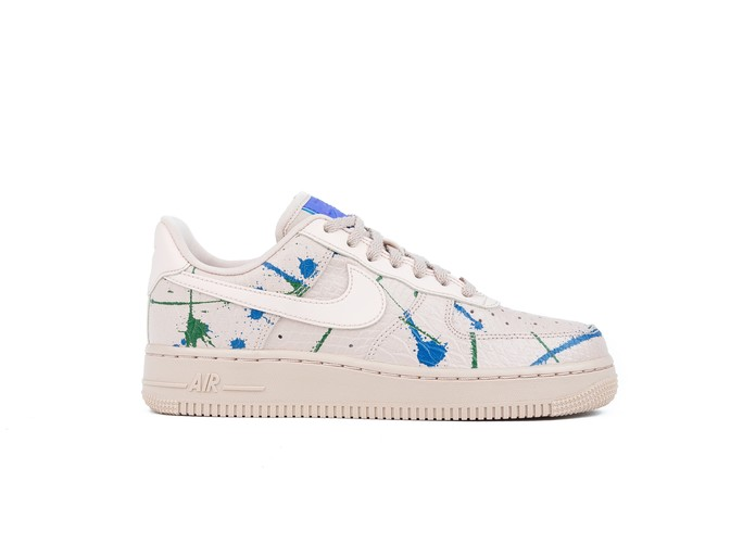 NIKE AIR FORCE 1 '07 LUX  WOMEN PARTICLE BEIGE PARTICLE BEIGE-898889-202-img-1