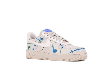 NIKE AIR FORCE 1 '07 LUX  WOMEN PARTICLE BEIGE PARTICLE BEIGE-898889-202-img-2