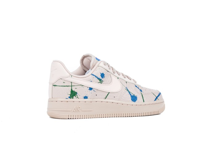 NIKE AIR FORCE 1 '07 LUX  WOMEN PARTICLE BEIGE PARTICLE BEIGE-898889-202-img-3