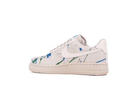 NIKE AIR FORCE 1 '07 LUX  WOMEN PARTICLE BEIGE PARTICLE BEIGE-898889-202-img-4