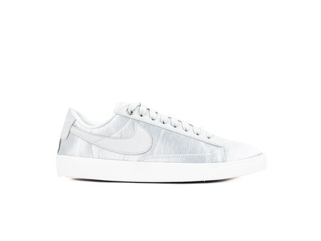 NIKE BLAZER LOW SE WOMEN PURE PLATINUM PURE PLATINUM-WHITE-AO1251-001-img-1
