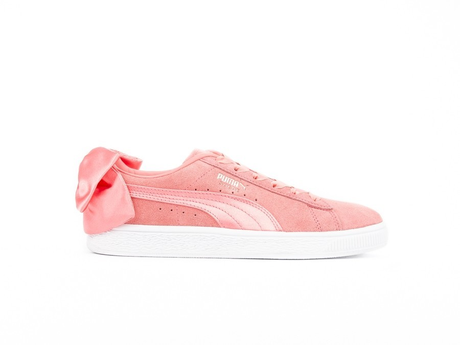 PUMA SUEDE BOW WMNS SHELL PINK