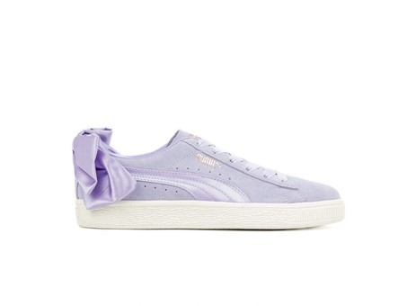 PUMA SUEDE BOW WMNS ROSE PURPLE-367317-05-img-1