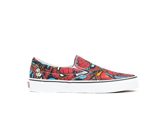 VANS  CLASSIC SLIP-ON SPIDERMAN-VA38F79H7-img-1