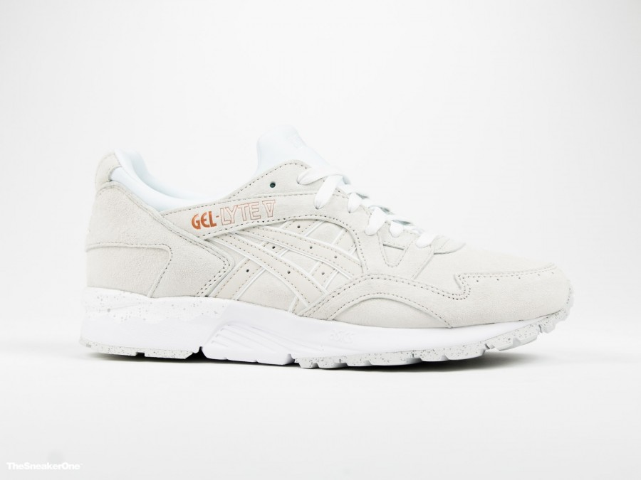 Asics Gel Lyte V Rose Gold White-H600L-0101-img-1