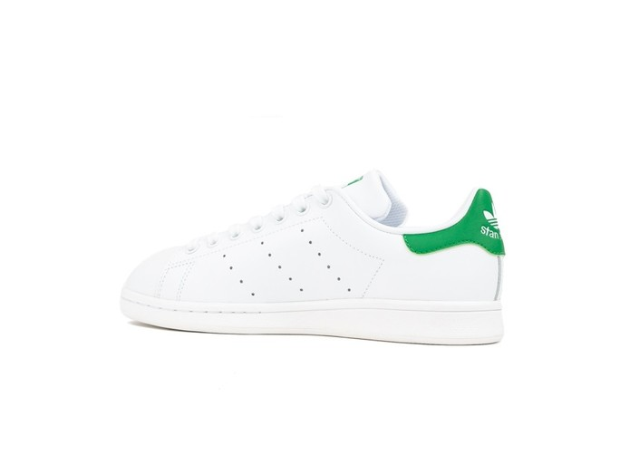 ADIDAS STAN SMITH BLANCO TALON VERDE-M20324-img-4