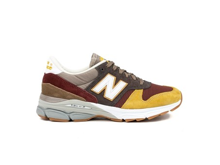 NEW BALANCE M770 UK (9FT) MADE IN ENGLAND MARRON-M7709FT-img-1