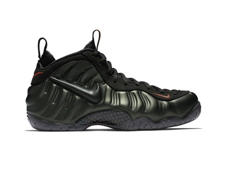 NIKE AIR FOAMPOSITE PRO SEQUOIA-BLACK-TEAM ORANGE-624041-304-img-1