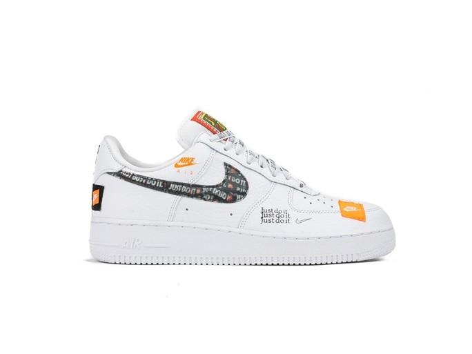 NIKE AIR FORCE 1 '07 PREMIUM JUST DO IT WHITE-WHIT-AR7719-100-img-1
