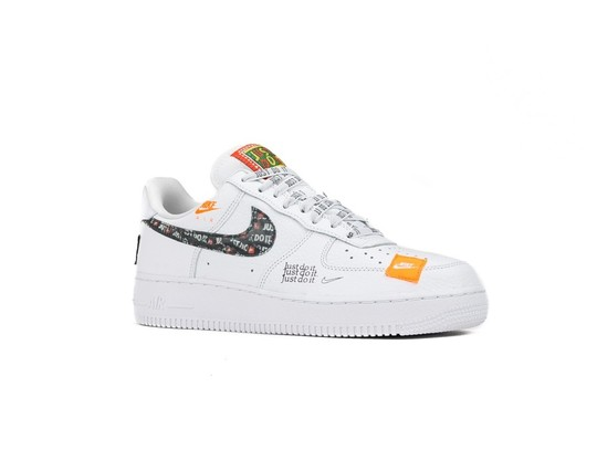 air force 1 just do it weiß