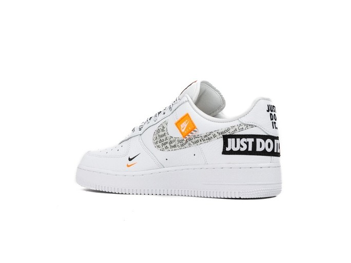 NIKE AIR FORCE 1 '07 PREMIUM JUST DO IT WHITE-WHIT-AR7719-100-img-4