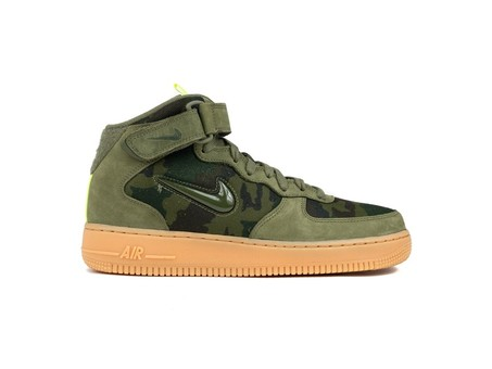 NIKE AIR FORCE 1 JEWEL LO MEDIUM OLIVE-MEDIUM OLIV-AV2586-200-img-1
