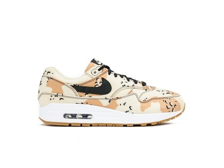NIKE AIR MAX 1 PREMIUM  BEACH-BLACK-PRALINE-LIGHT CREAM-875844-204-img-1