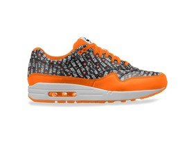 NIKE AIR MAX 1 PREMIUM  BLACK-BLACK-TOTAL ORANGE-W-875844-008-img-1