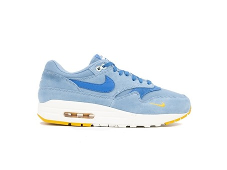 NIKE AIR MAX 1 PREMIUM  WORK BLUE-MOUNTAIN BLUE-YE-875844-404-img-1
