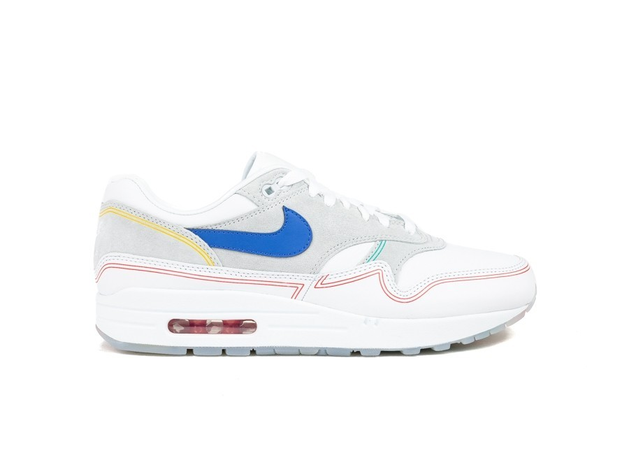 NIKE AIR MAX 1 PURE PLATINUM-ROYAL BLUE-WHITE-AV3735-002-img-1