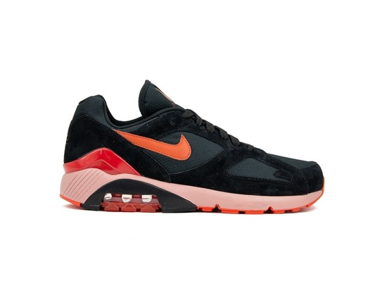NIKE AIR MAX 180  BLACK-TEAM ORANGE-UNIVERSITY RED-AV3734-001-img-1