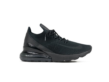 NIKE AIR MAX 270 FLYKNIT BLACK-ANTHRACITE-BLACK-AO1023-005-img-1