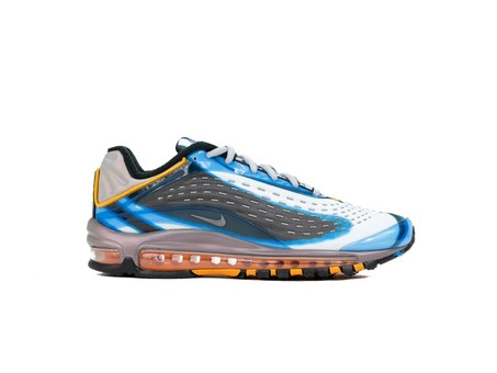 NIKE AIR MAX DELUXE PHOTO BLUE-WOLF GREY-ORANGE PE-AJ7831-401-img-1