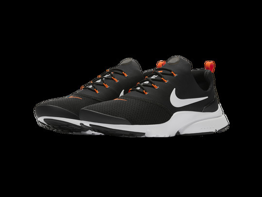NIKE PRESTO FLY JUST DO IT BLACK-WHITE-TOTAL ORANG-AQ9688-001-img-3