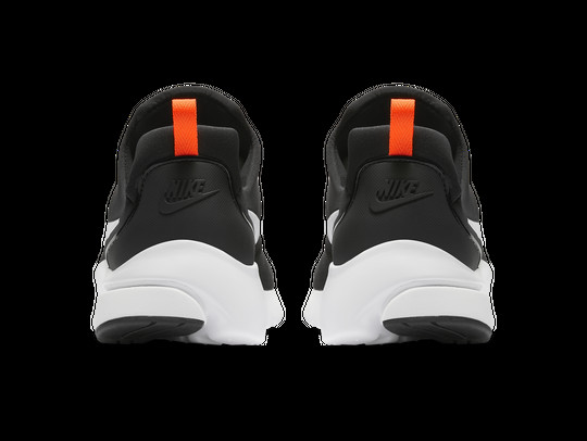 NIKE PRESTO FLY JUST DO IT BLACK-WHITE-TOTAL ORANG-AQ9688-001-img-4