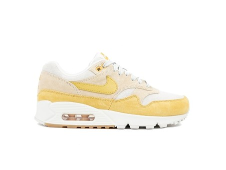 NIKE AIR MAX 90/1GUAVA ICE-WHEAT GOLD-SUMMIT WHITE-AQ1273-800-img-1