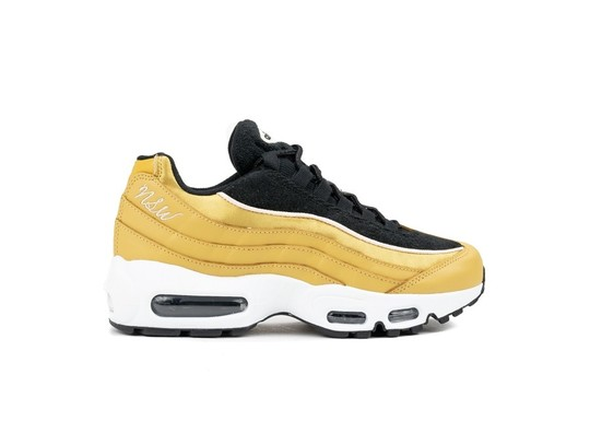 NIKE WOMEN S NIKE AIR MAX 95 LX  WHEAT GOLD-WHEAT-AA1103-701-img-1