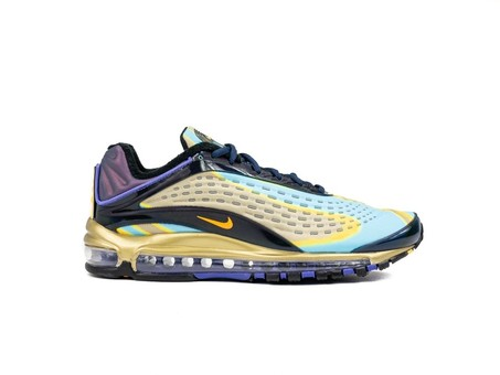 NIKE AIR MAX DELUXE PHOTO BLUE-WOLF GREY-ORANGE PE-AJ7831-400-img-1