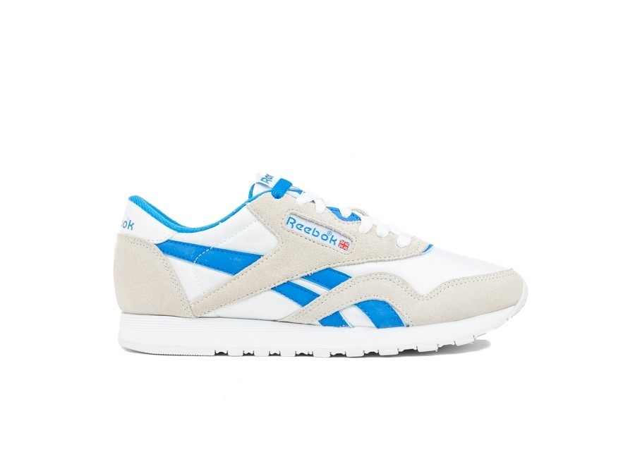 REEBOK CLASSIC  NYLON WHITE-CYCLASSIC LEATHER E BL-CN3263-img-1
