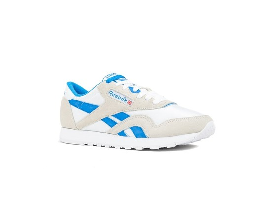 REEBOK CLASSIC  NYLON WHITE-CYCLASSIC LEATHER E BL-CN3263-img-2