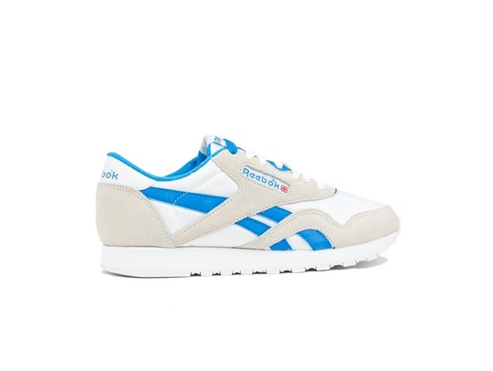REEBOK CLASSIC  NYLON WHITE-CYCLASSIC LEATHER E BL-CN3263-img-3