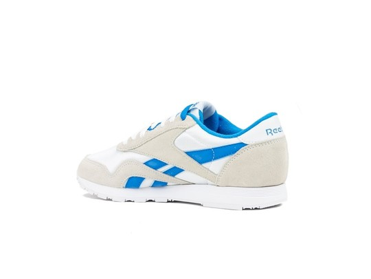 REEBOK CLASSIC  NYLON WHITE-CYCLASSIC LEATHER E BL-CN3263-img-4