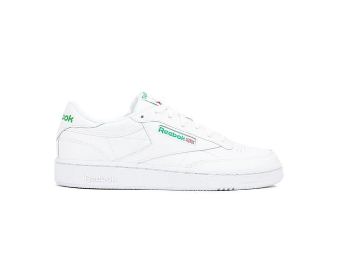 REEBOK CLUB C 85 WHITE-GREEN-AR0456-img-1