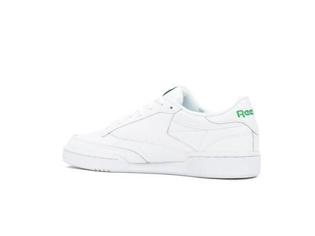 REEBOK CLUB C 85 WHITE-GREEN-AR0456-img-4