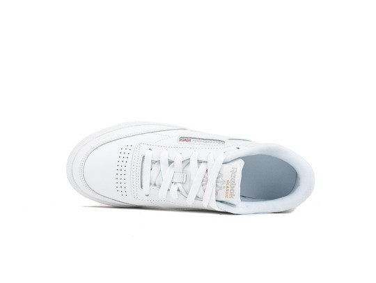 REEBOK CLUB C 85 WOMEN WHITE-GUM-BS7686-img-5