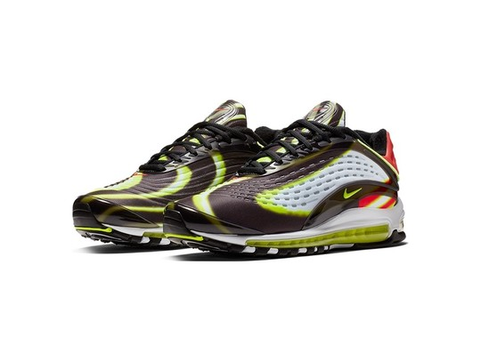 NIKE AIR MAX DELUXE BLACK-VOLT-HABANERO RED-WHITE-AJ7831-003-img-2