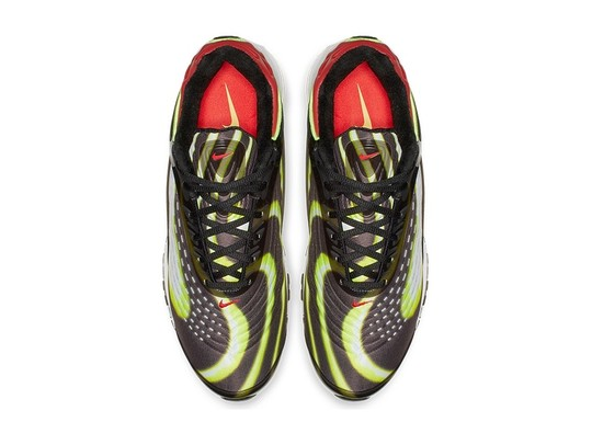 NIKE AIR MAX DELUXE BLACK-VOLT-HABANERO RED-WHITE-AJ7831-003-img-3