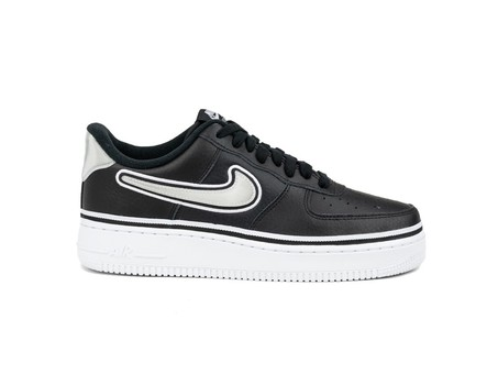 NIKE AIR FORCE 1 '07 LV8 SPORT BLACK-WHITE-AJ7748-001-img-1