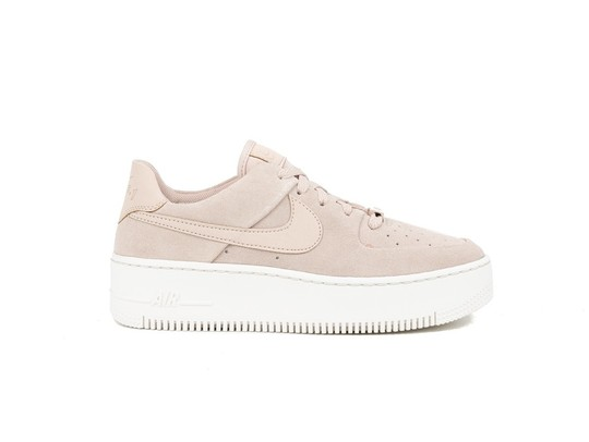 NIKE WMNS  AIR FORCE 1 SAGE LOW PARTICLE BEIGE-AR5339-201-img-1